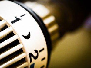 waermepumpenheizung thermostat von einer heizung