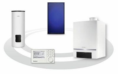 Solarheizung Komponenten Buderus Orbit