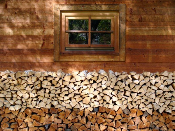 stueckholz fuer eine stueckholzheizung