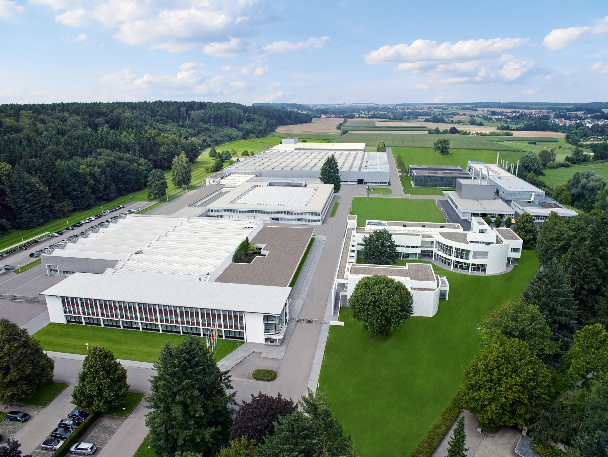 Max Weishaupt GmbH in Schwendi Ansicht aus der Luft