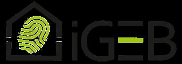 igeb logo auf weißem hintergrund