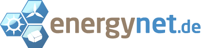 energynet logo auf weißem hintergrund