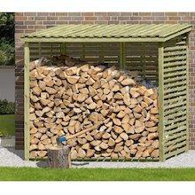 brennholzregal von gartenpirat