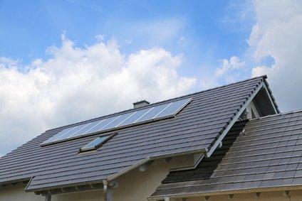 thermische solaranlage auf dach
