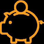 heizung kaufen geld sparen sparschwein