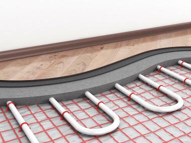 Fußbodenheizung Kosten Nasssystem