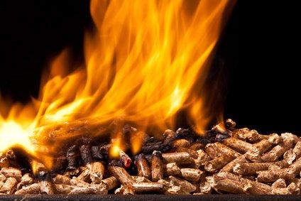 heizen mit stroh pellets verbrennen