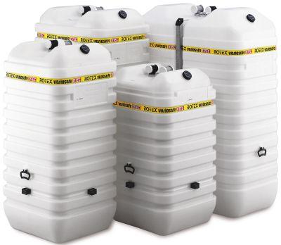 Batterietank in verschiedenen Ausführungen