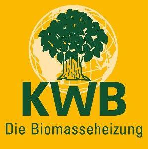 kwb logo und biomasseheizung kwb easyfire
