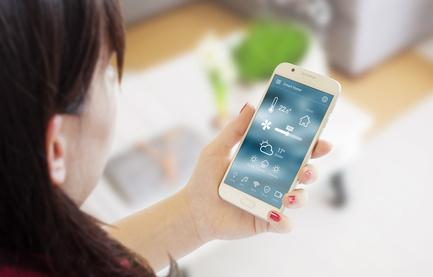 Heizungssteuerung per Smartphone von unterwegs