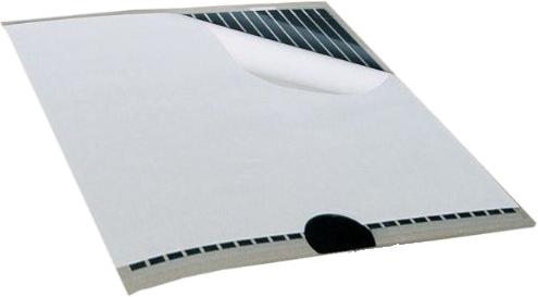 Heizfolie der Firma Limmer silber