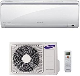 Klima-Split Anlage von Samsung mit Fernbedienung