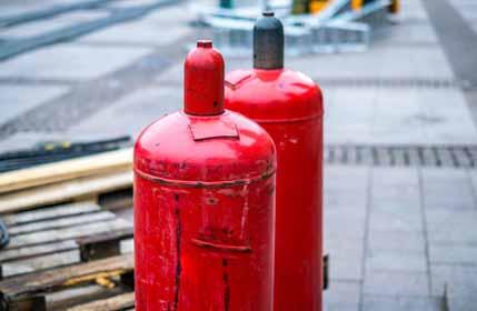 gasflaschen lagern