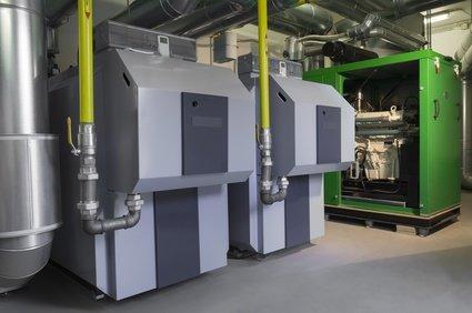 BHKW Förderung Blockheizkraftwerk in der Ansicht