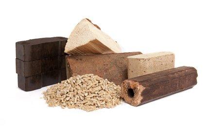 Brennstoffe für die Holzzentralheizung