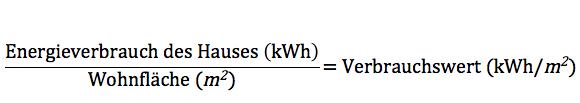 Formel zur Berechnung des Heizspiegel