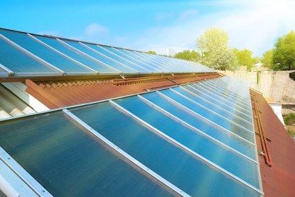 Gasbrennwerttherme mit Solar