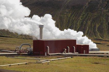Geothermiekraftwerk in Island