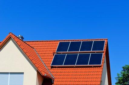 Hybridkollektoren auf dem Dach