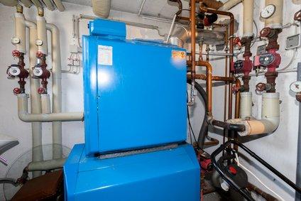 Modulation Brennwertanlage