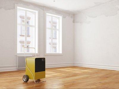 Luftentfeuchter in einer Wohnung